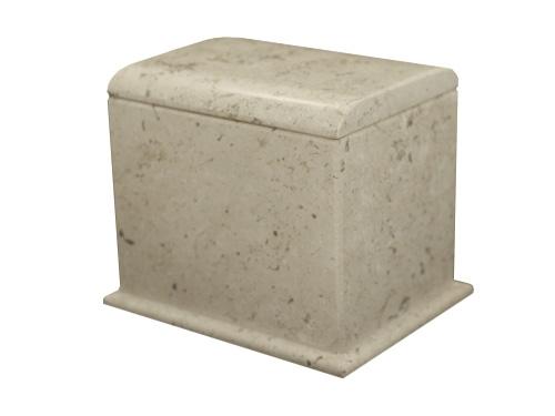 Urna cofre mármol
